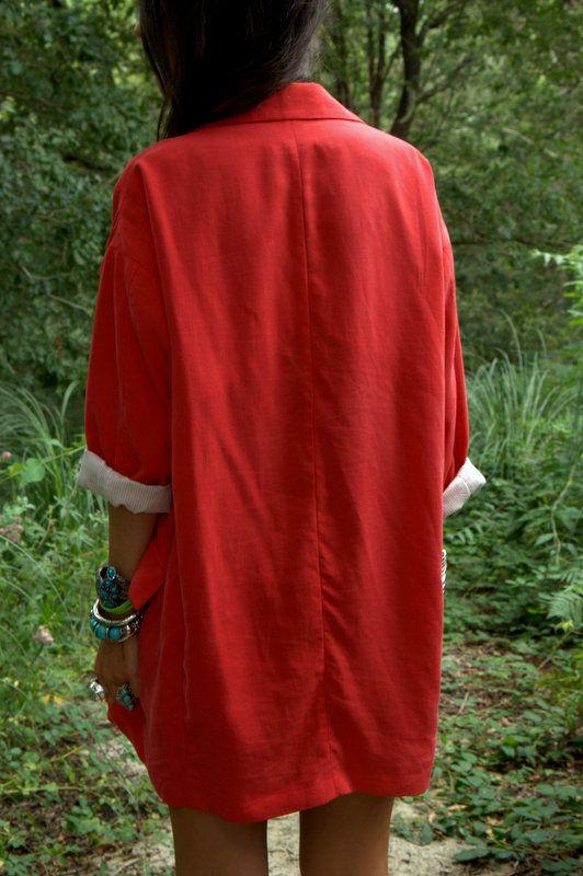 Nerea Dondiz: Red jacket