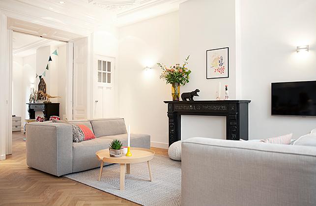 Modern Interieur Herenhuis : Ontwerp en inrichting kamer ensuite van een herenhuis interieur