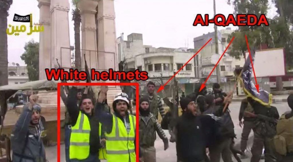 Us Buying New White Helmets For Al Qaeda Terrorists Aardvark