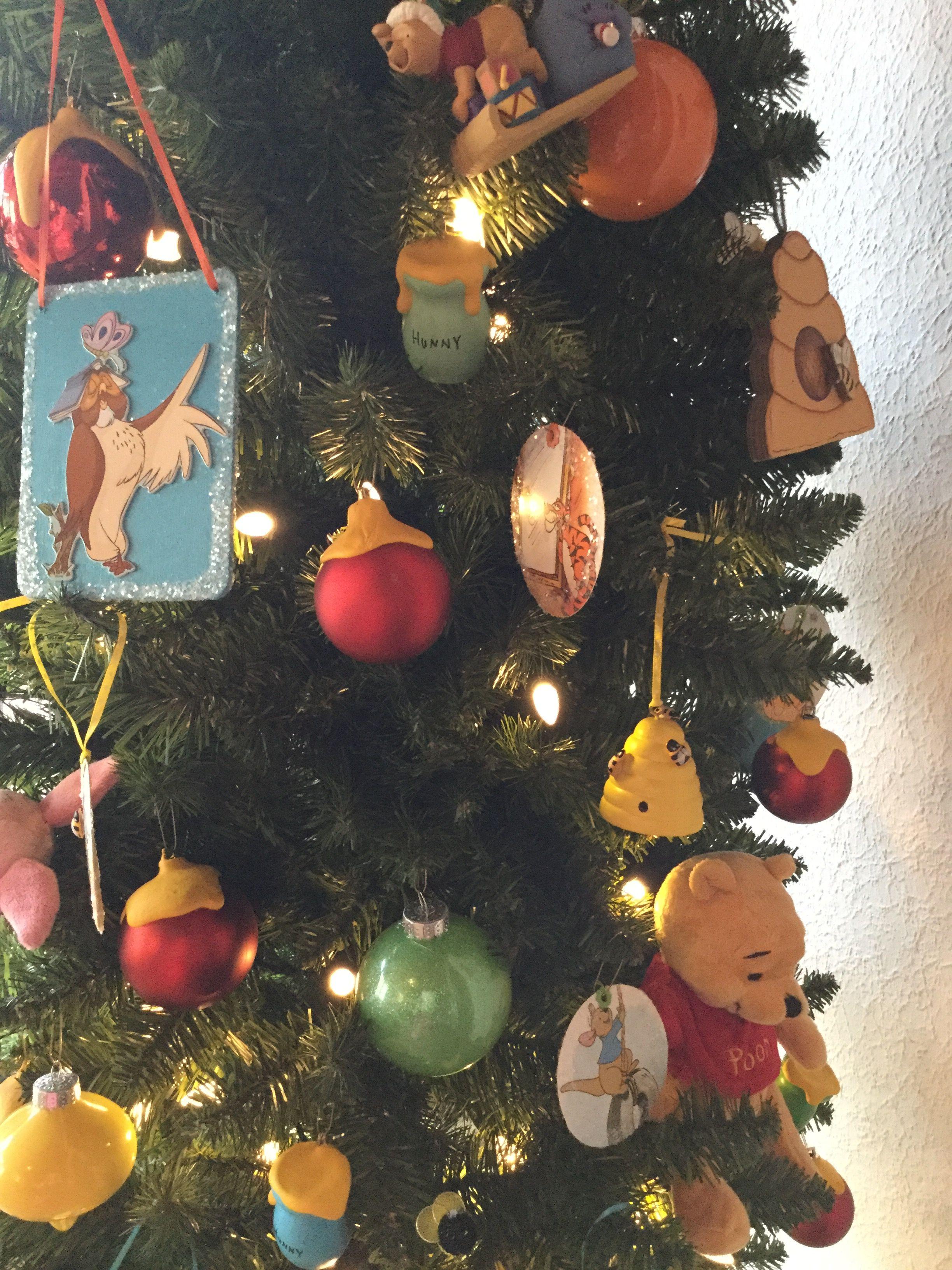DIY Winnie the Pooh Christmas tree ornaments | My Winnie the Pooh ...