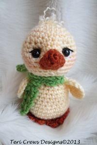 Free Crochet Patterns by Teri Crews Descriptions & Instant Downloads Cute Chick
