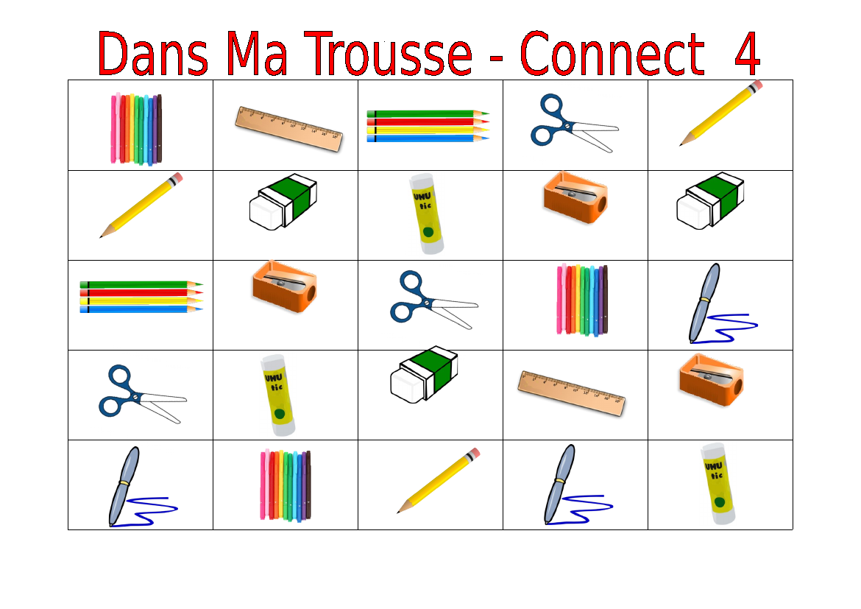 French Pencil Case Items Dans Ma Trousse Worksheets Teaching Resources Pencil Case Teaching Resources Teaching