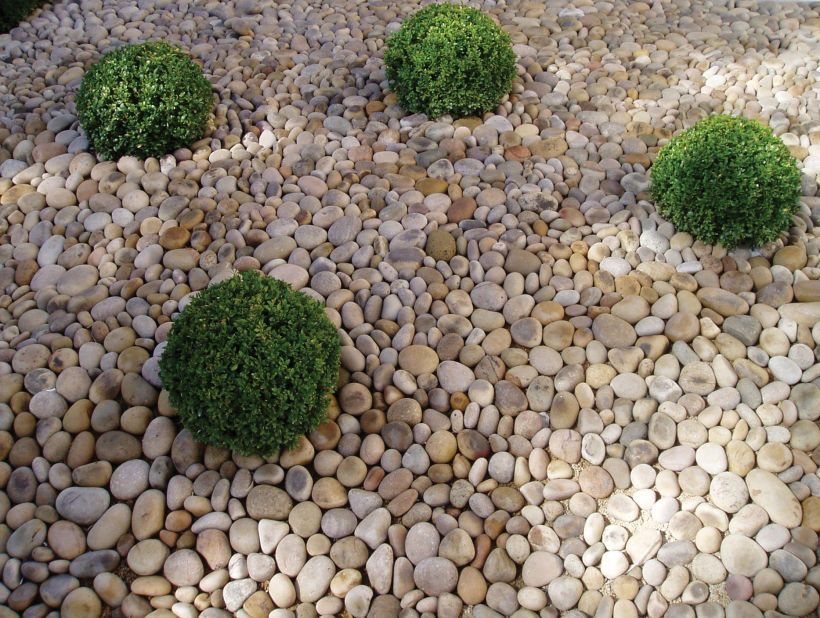 Pebbles Loose Eggshell pebbles PRODUCTS Paving Pinterest