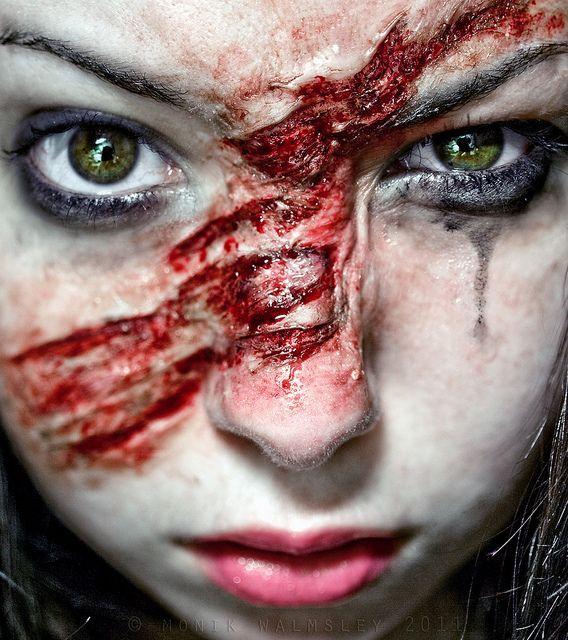 werewolf scratch makeup - Google Search