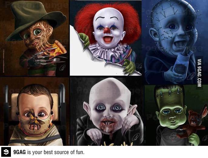 Villain as a child... the cutest Nosferatu ever :D