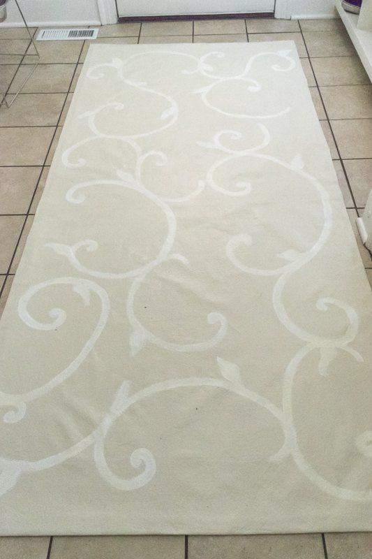 Make A Floor Cloth From Drop