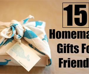15 Unique Homemade Gifts For Friends