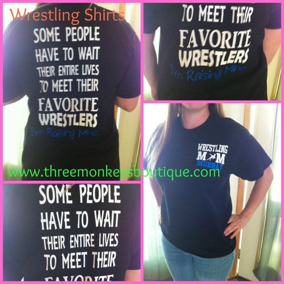 Wrestling Mom Shirts- Please use coupon code PINTEREST to receive 10% off your entire purchase, https://www.etsy.com/listing/211752269/wrestling-mom-long-sleeve-t-shirt-with?