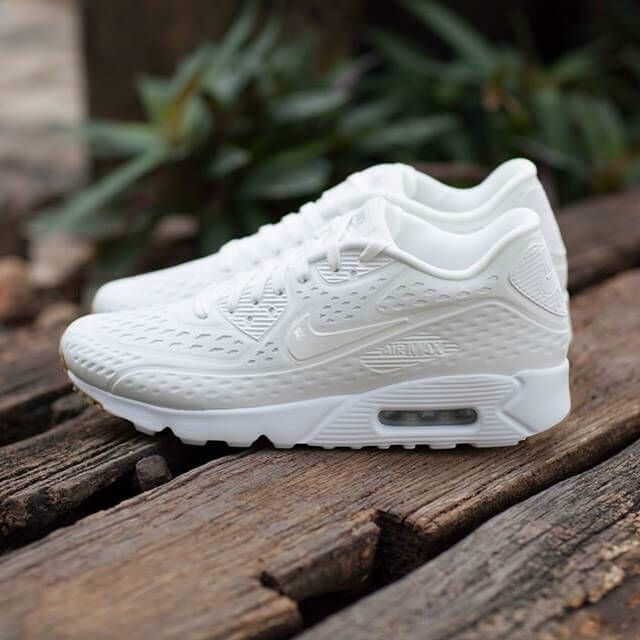 nike air max 90 ultra all white