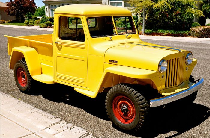 Willys Overland Jeep Truck