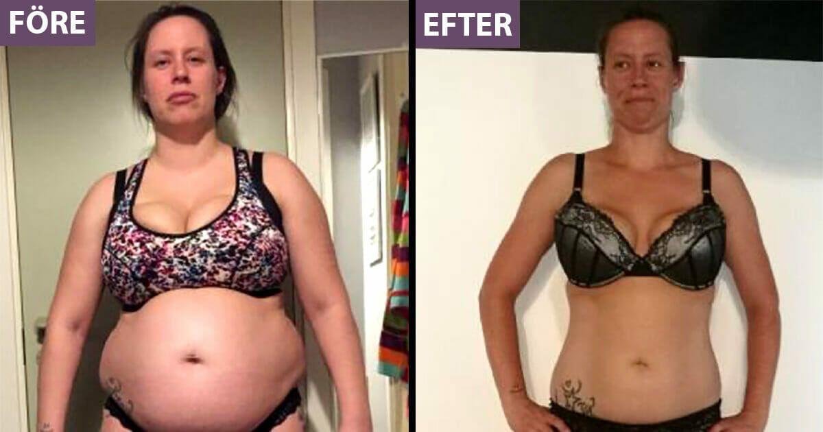 gå ner i vikt en vecka