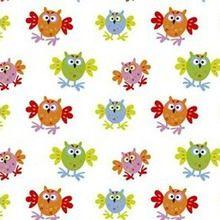 Copenhagen - Flappy Owls Fabric