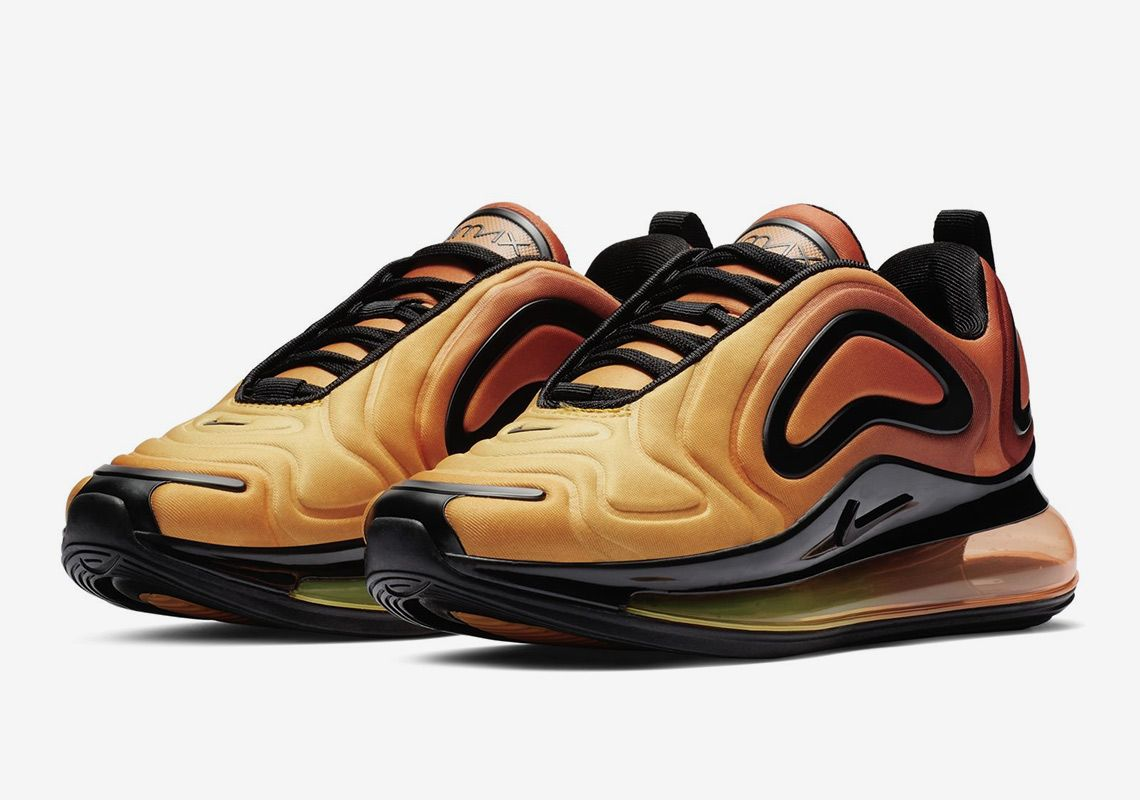 "competitive price 6bace c1e7a The Nike Air Max 720 GS ""Sunset"""