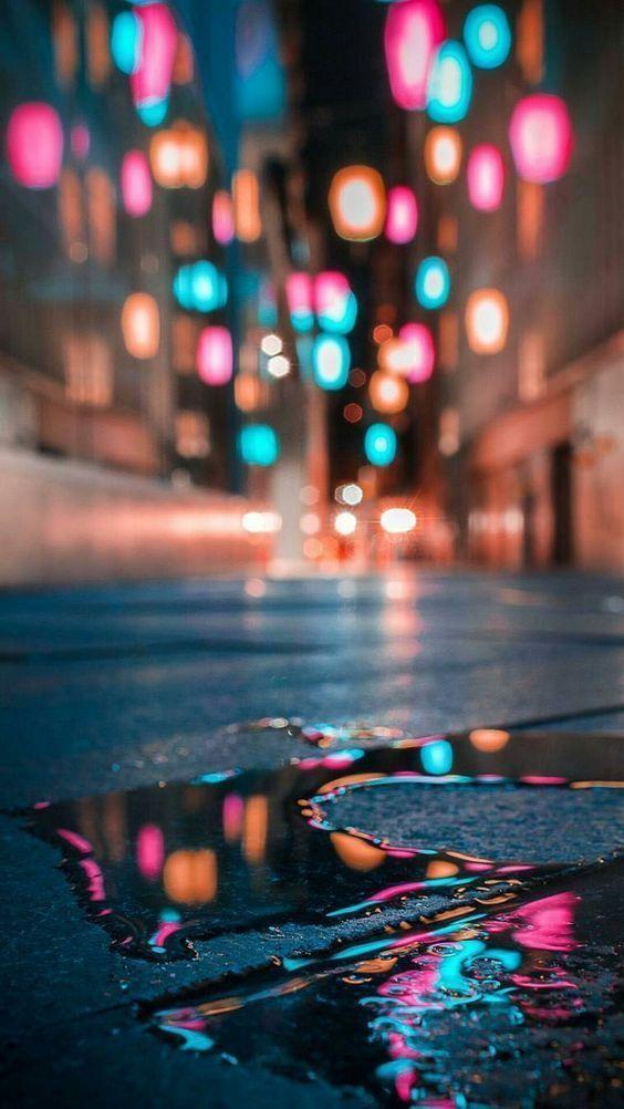 r a i n y   s t r e e t - #rain #fondosdepantallatumblr r a i n y   s t r e e t - #rain #wallphone