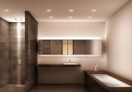Badkamer Verlichting Ideeen : Badkamer verlichting ideeën homeideas homeideas pinterest