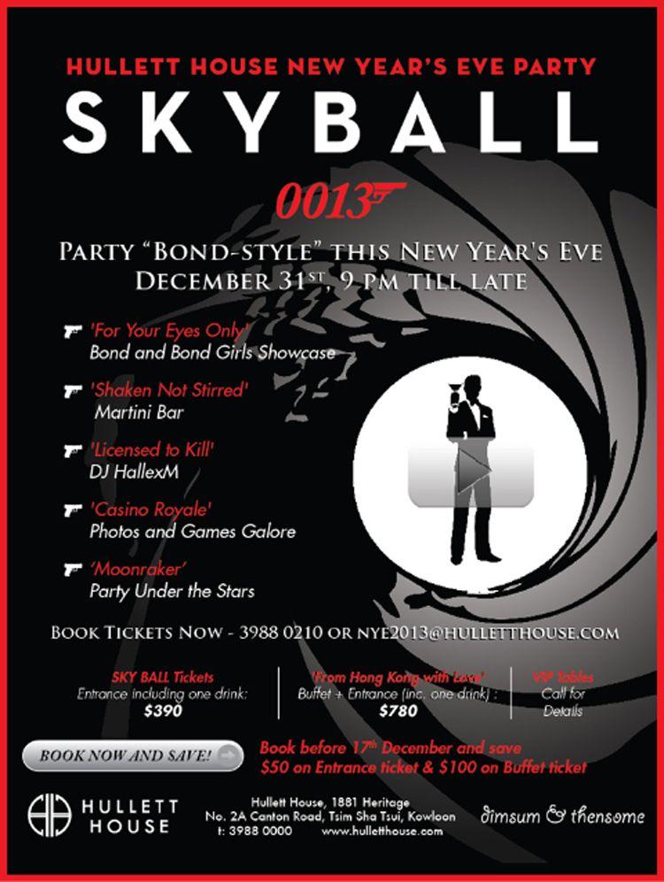 New Year\'s Eve SKY BALL « | James Bond Gala | Pinterest | Bar mitzvah