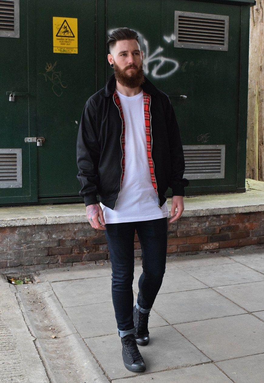 Mens olive harrington jacket