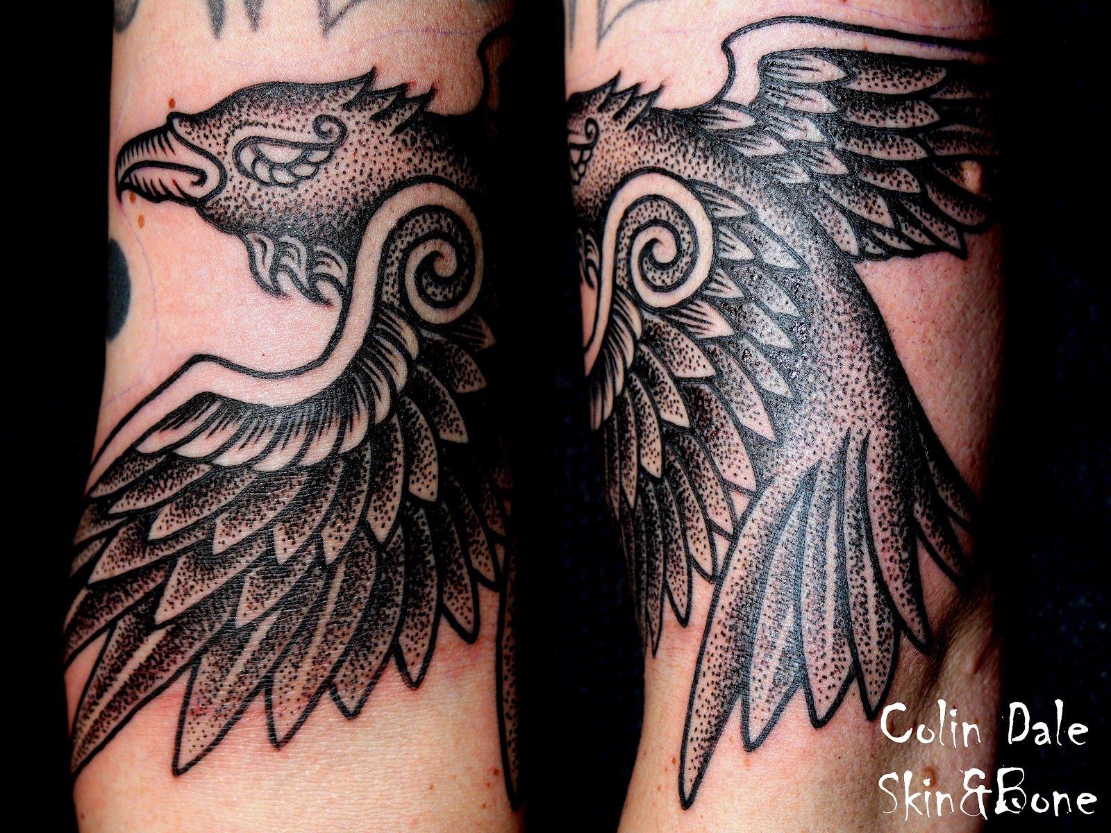 Raven Viking Tattoo: Nordic Raven Tattoo A One Shot Raven