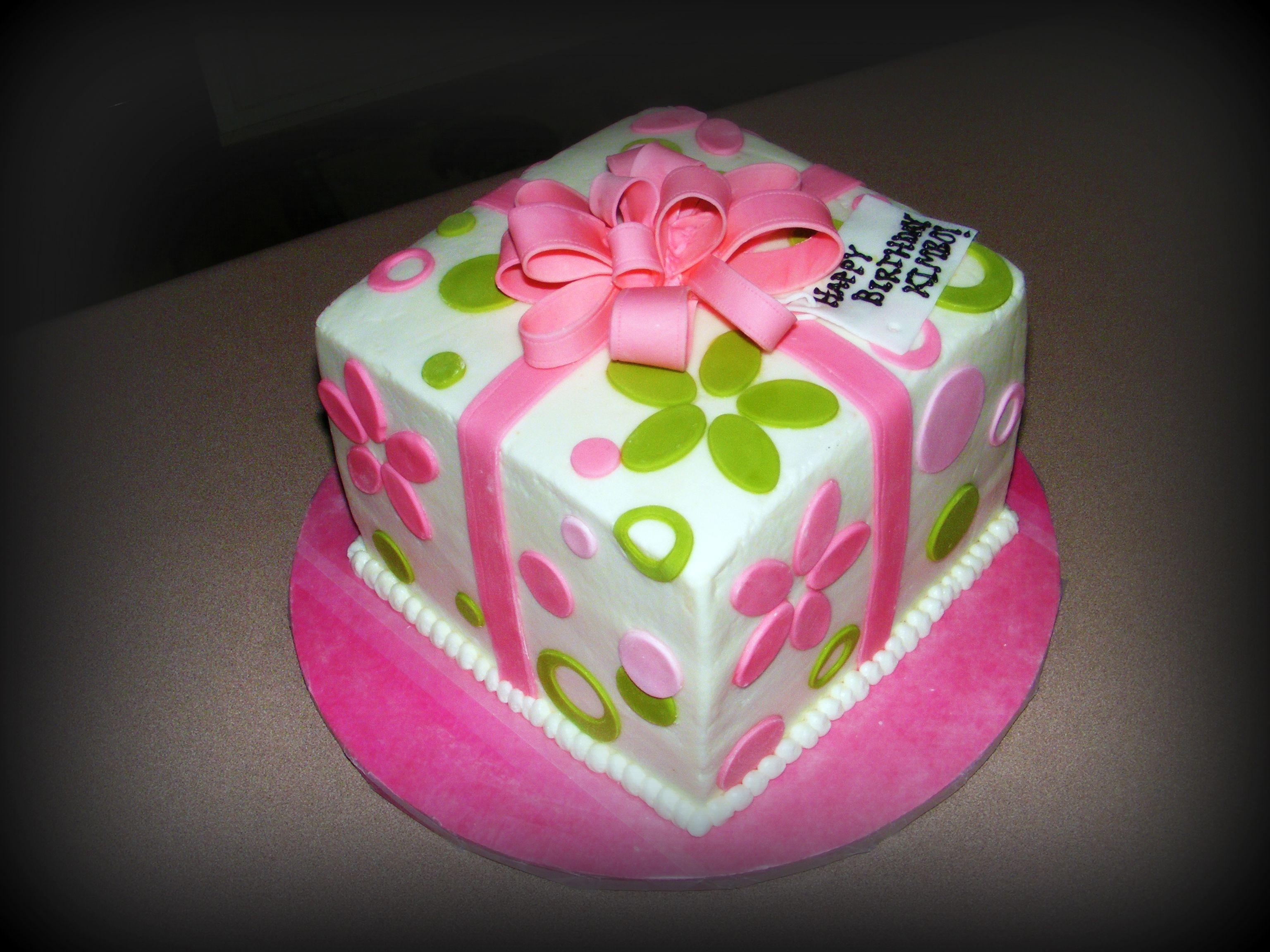 Cute Birthday Cakes For Teens Present Cake For Teen