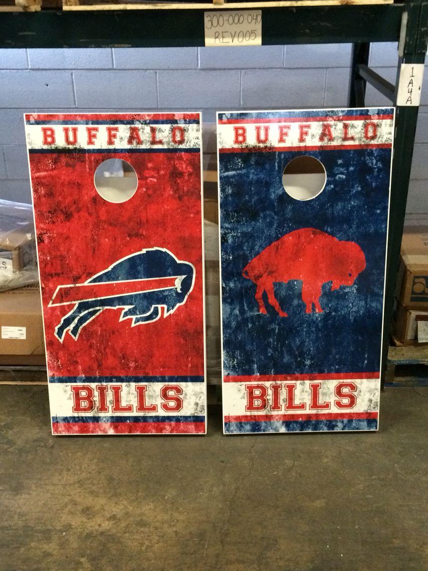 a8b34f45 Custom buffalo bills cornhole boards! www.danscustomgames.com ...