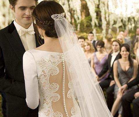 Белла на свадьбе фото