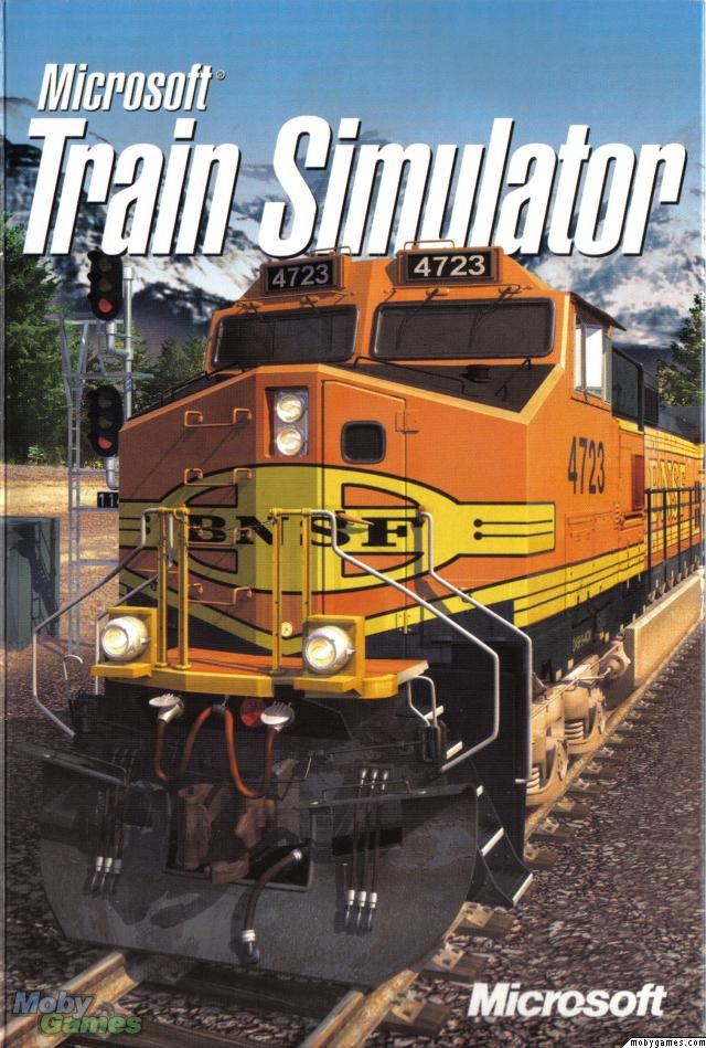 Microsoft Train Simulator Game-lots of engines, etc   Free