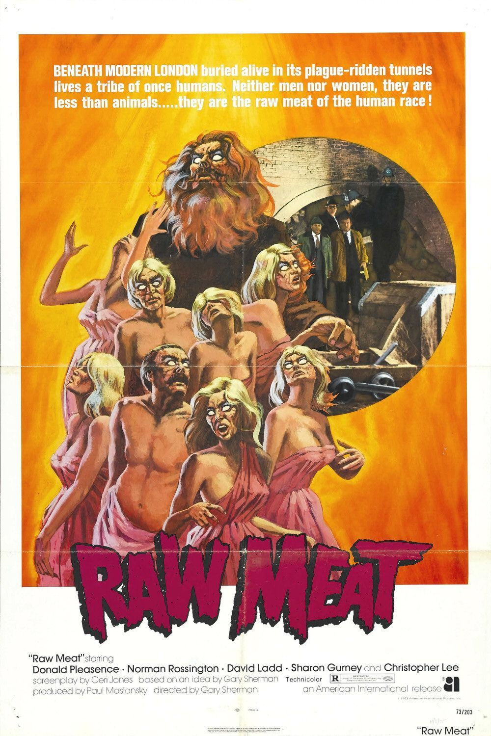 20 Raw Meat Feb 22nd Movie Posters Movie Posters Vintage Horror Movie Posters