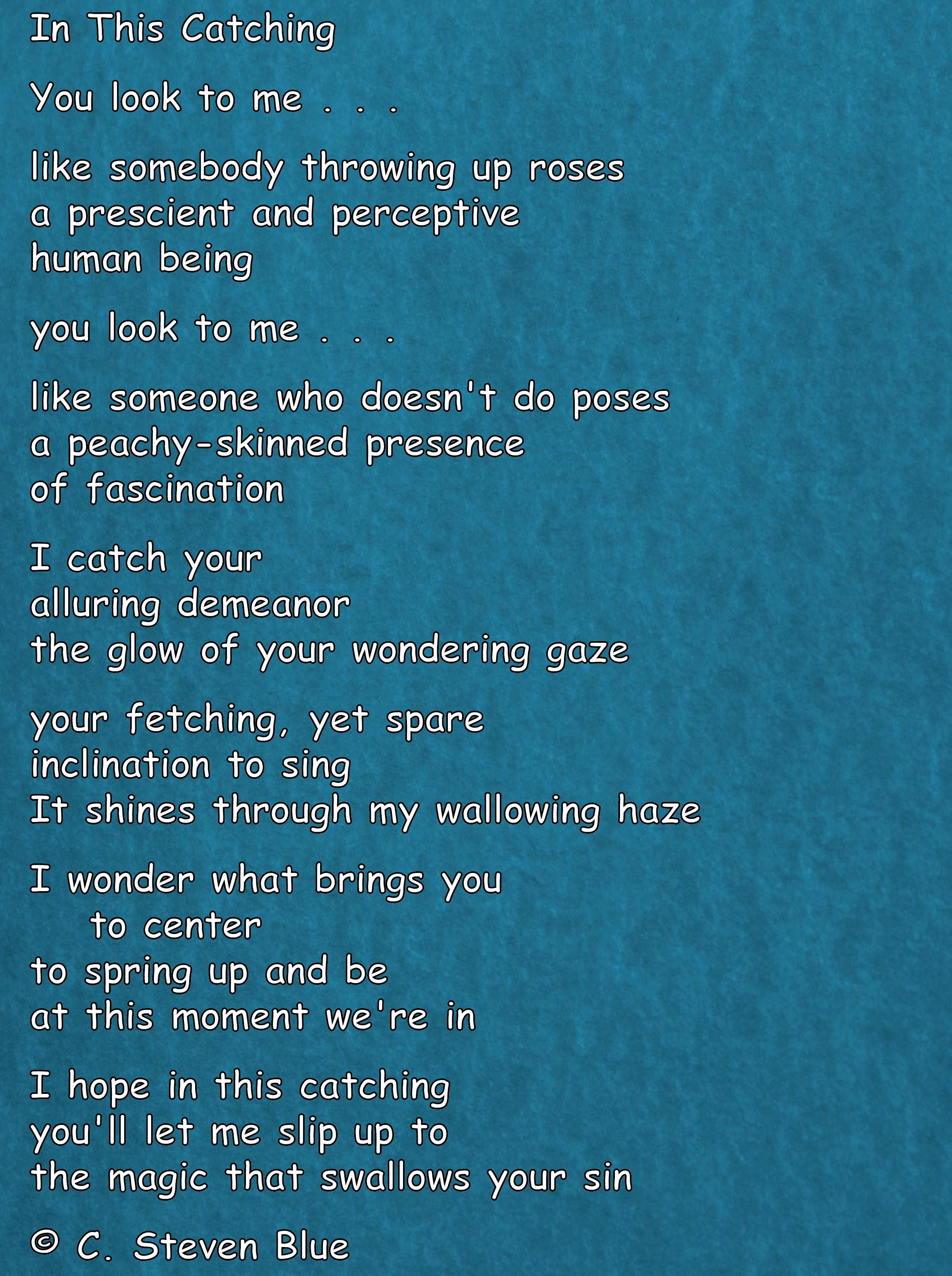 a brand new poem