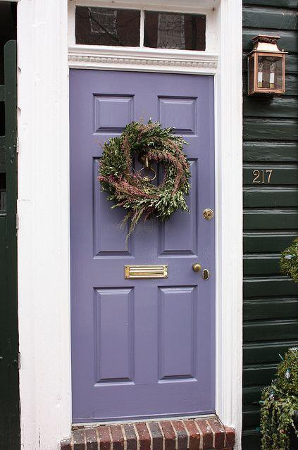 Lavender Door Purple Front Doors Painted Front Doors Front