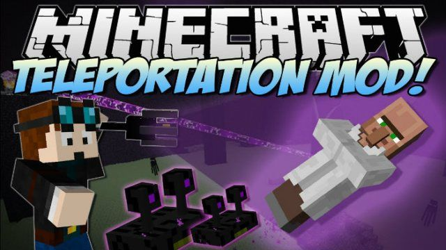 Teleportation Mod For Minecraft The Teleportation Mod Adds - Minecraft teleport player to mob