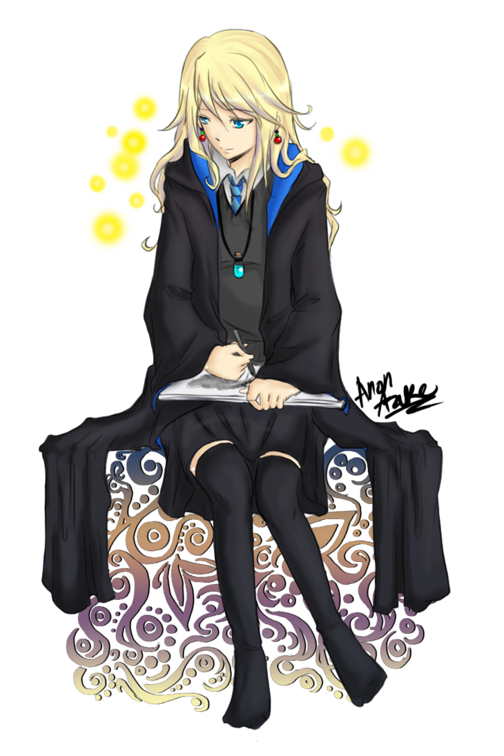 Luna Lovegood: [looking at wind chime made of shells] Muggles think these keep away evil, but they're wrong.