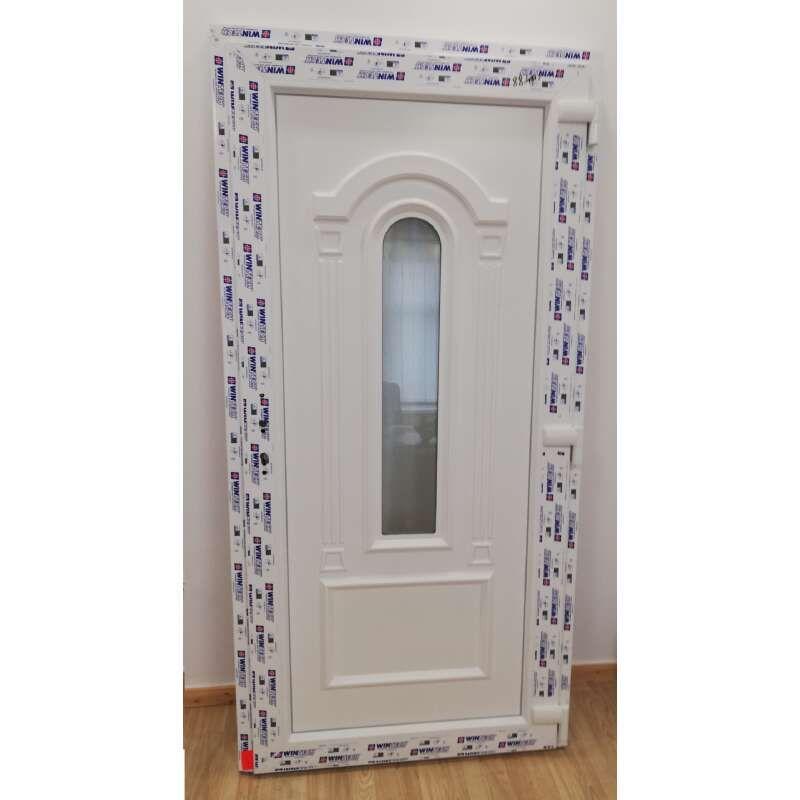 Tassos plastic Entrance door 98x208cm # white