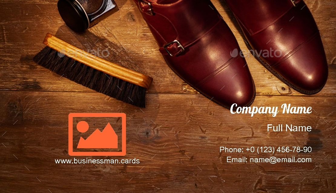 Men Shoes Accessories Business Card Template Men S Shoes Accessories Boutique Business Cards Men S Shoes