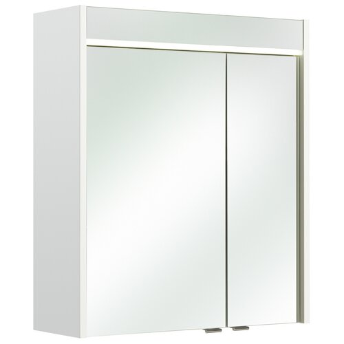 Quickset Piolo 60 X 70cm Mirrored Bathroom Cabinet With Integrated