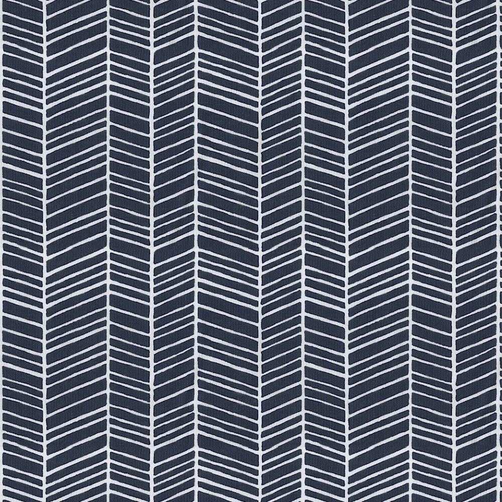 Navy Herringbone Fabric by the Yard | Carousel Designs. This ...
