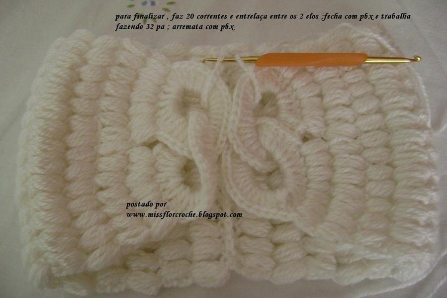 clase+cuello+crochet+con+anillas8.jpg 899 × 599 pixlar | Baby stuff ...