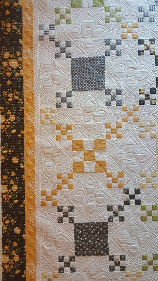 9th And Vine Quilt Pattern By Coriander Quilts Using Her