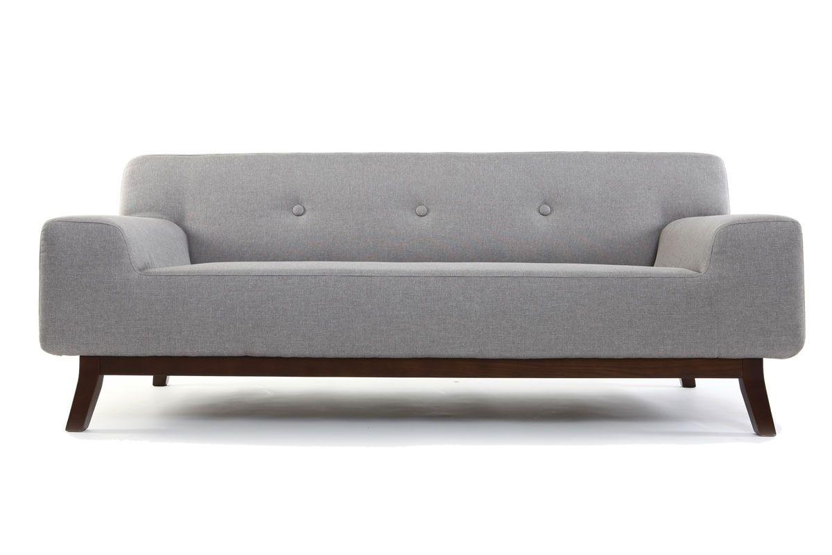 Canape Design 2 3 Personnes Gris Vila Zoom Furniture
