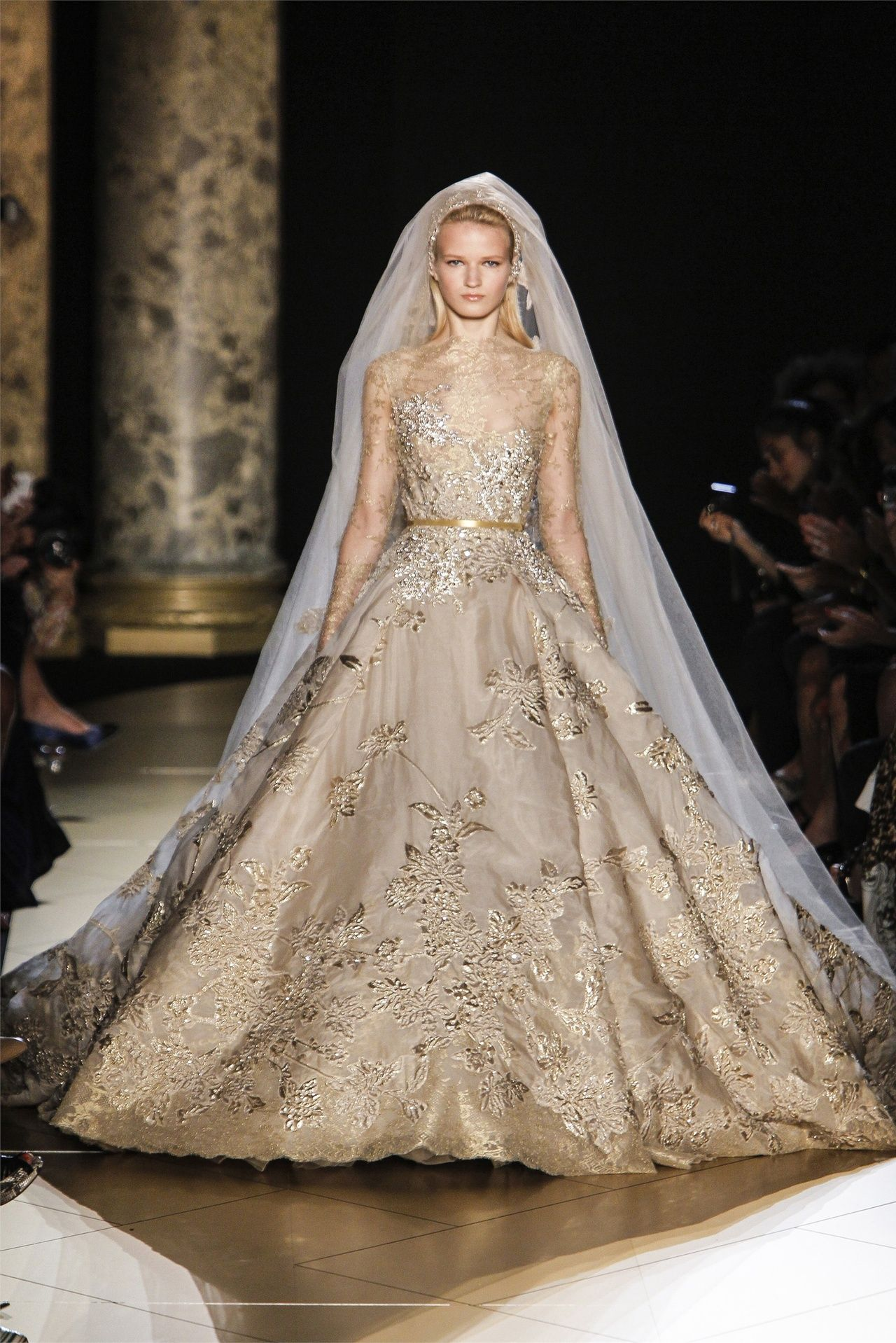 Royal Gold Wedding Dress Wedding Dress Couture Haute Couture