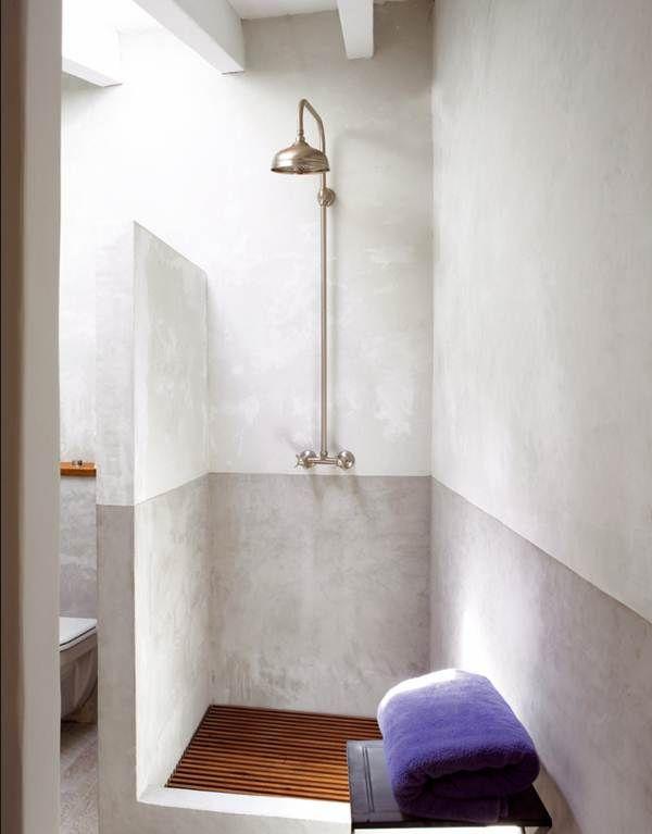 Ventajas de las duchas de obra duchas de material - Material para banos ...