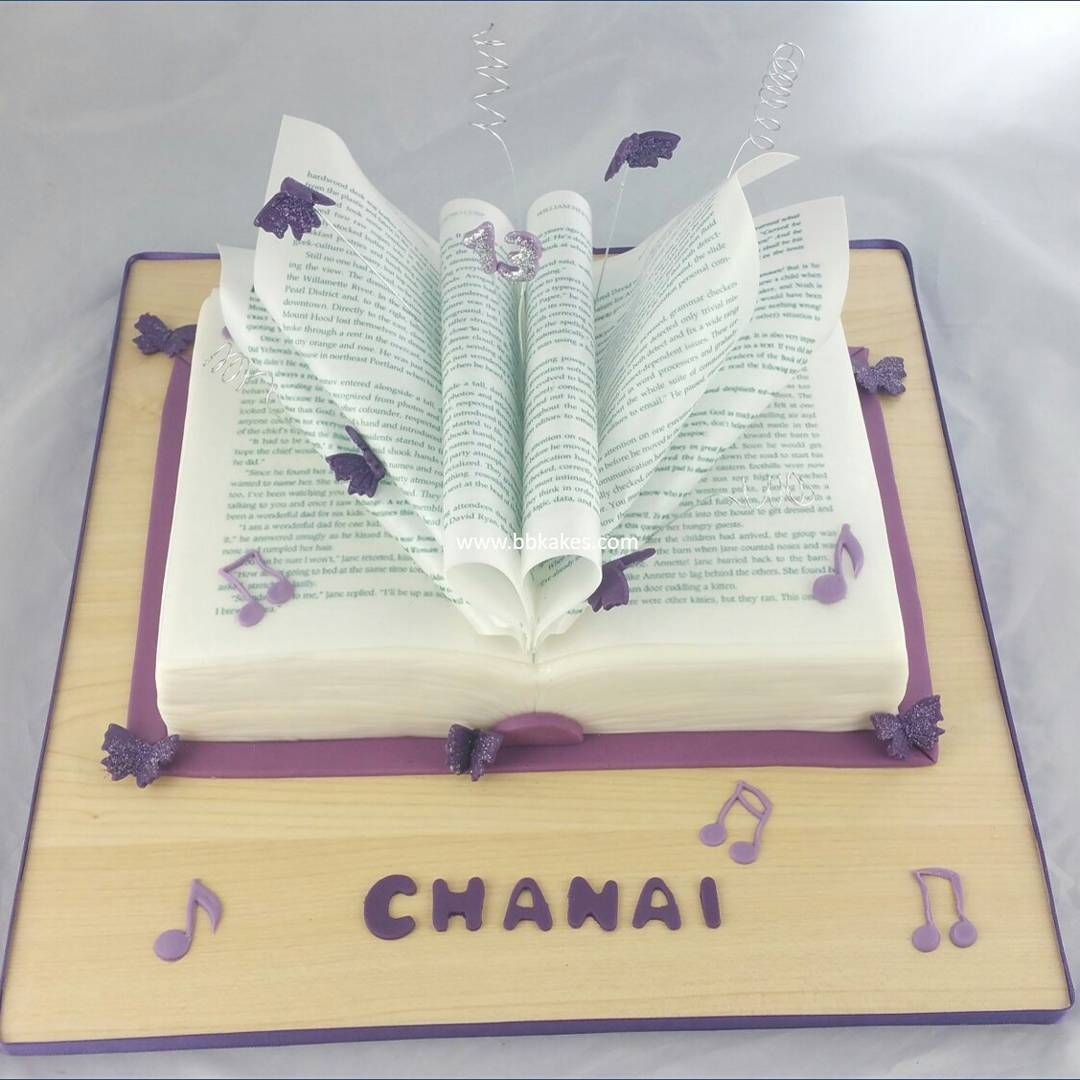Open Book Cake With Images Open Book Cakes Book Cakes Book Cake