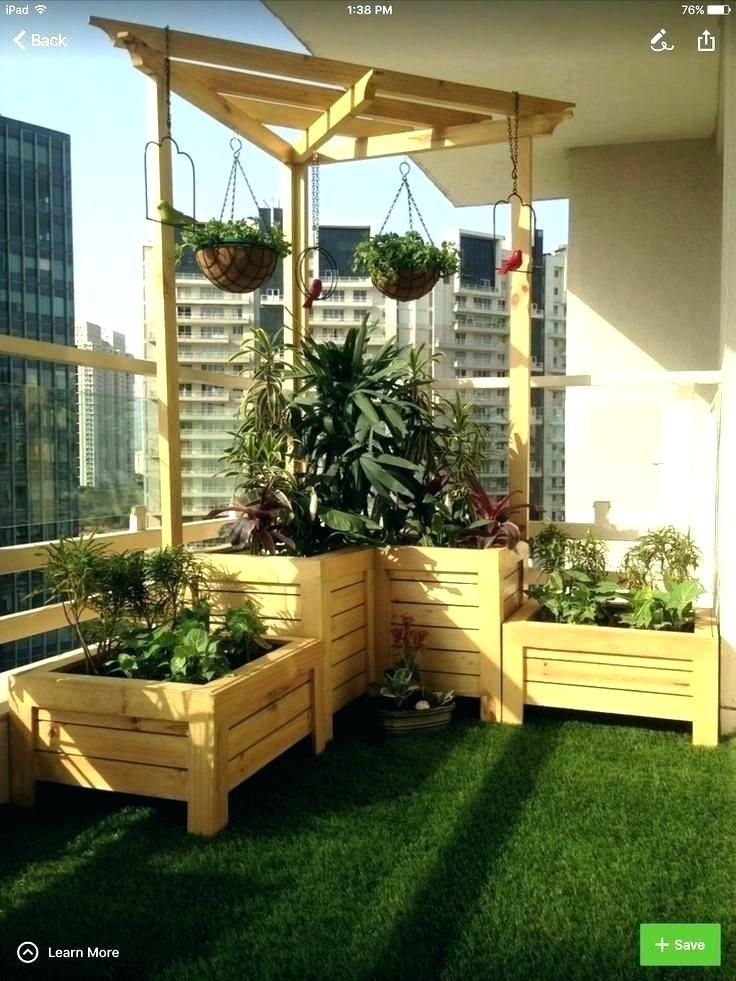 Image result for condo balcony gardens | Apartment balcony ...