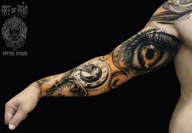 Bicep Eye Sleeve Tattoo Ojos Pinterest Tattoos Sleeve Tattoos