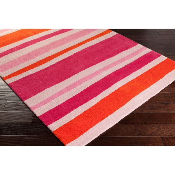 Meticulously Woven Roseville Striped Area Rug (5' x 8') - Overstock™ Shopping - Great Deals on 5x8 - 6x9 Rugs