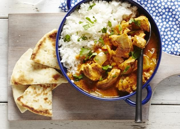 This Slow Cooker Butter Chicken is sure to become part of your regular rotation. It's so easy to prepare (no browning chicken at 7 am!) and makes a lot so you'll have leftovers the next day.