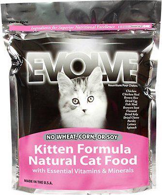 Pin By Kimberly Koenig On Pet Info Kitten Formula Dry Cat Food