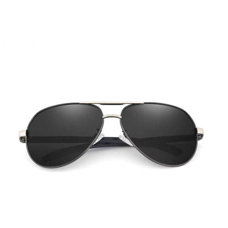 3ed73ac9e6 Protection Classic Pilot Metal Driving Sunglasses – LABONNI  sunglasses   pilot  mensfashion