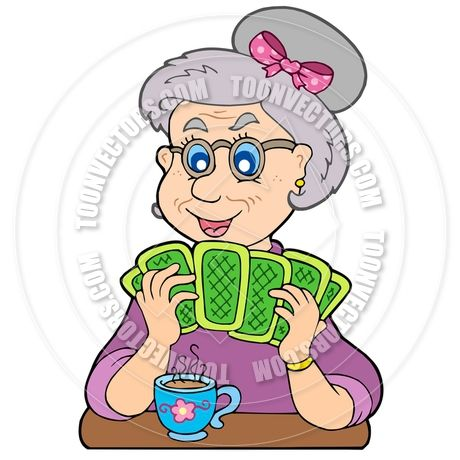 Clipart Old People Playing Cards Saferbrowser Yahoo Image Search