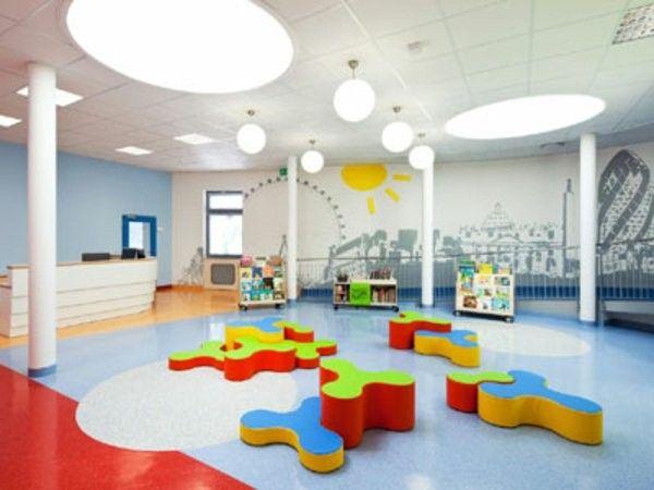 Modern Ideas For Kindergarten Interior Church Classrooms Interiores Design Interiores