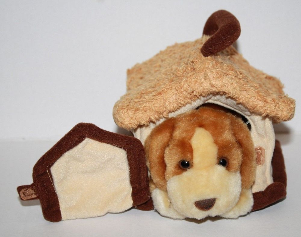 Animal Alley Darby Dog 6 Small Plush Puppy Soft Toy House Stuffed